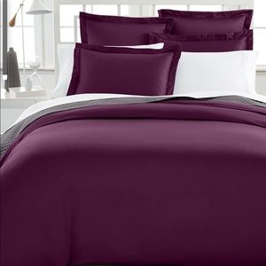 King Duvet Cover, 500 Thread Count 100% Pima Cotto